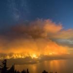 Eagle Creek Fire, Columbia River Gorge, Oregon - Charlie Riter Photo
