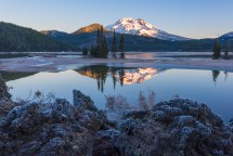 Frost at Sparks Lake