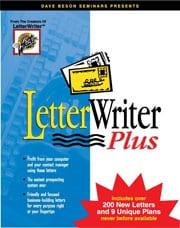 Dave Beson Letter Writer Plus