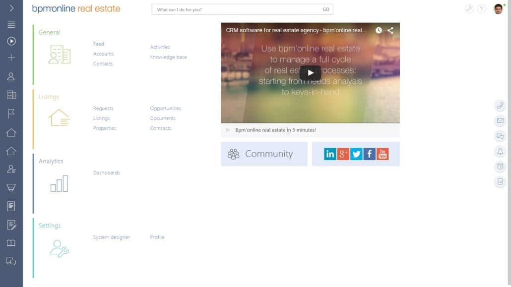 BPM'online Desktop-no text