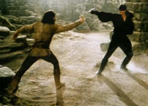 Inigo Montoya Duels the Man in Black