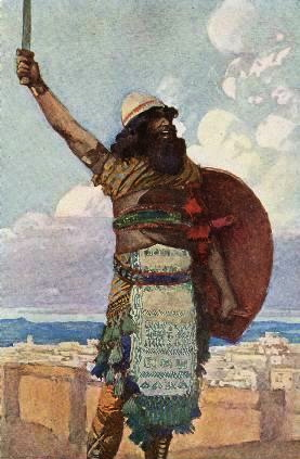 Othniel, by J James Tissot