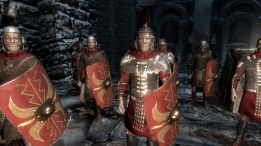 The Roman mod I used also changed all the imperial troops' armor to lorica