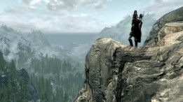 The stunning vistas of Skyrim
