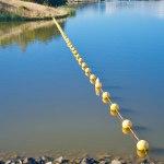 Buoys on Lake Ginninderra Gary Lum