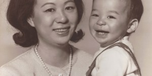Gary Lum and Mum