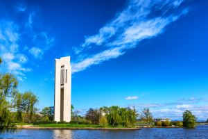 National Carillon on Lake Burly Griffin, Canberra Gary Lum