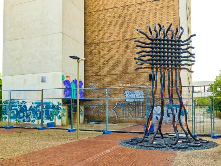 Woden public art in a couple of forms Public art in Woden gary Lum