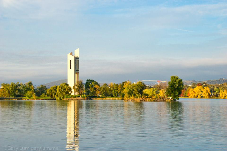National Carillon on Lake Burley Griffin Bridge to Bridge Gary Lum