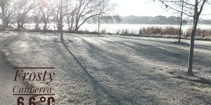 Frost on the grass near Lake Ginninderra Gary Lum