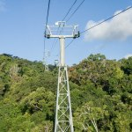 View from the Skyrail Rainforest Cableway
