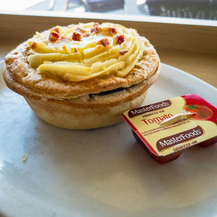 Potato pie from Henri's Bakery in Wodonga Gary Lum