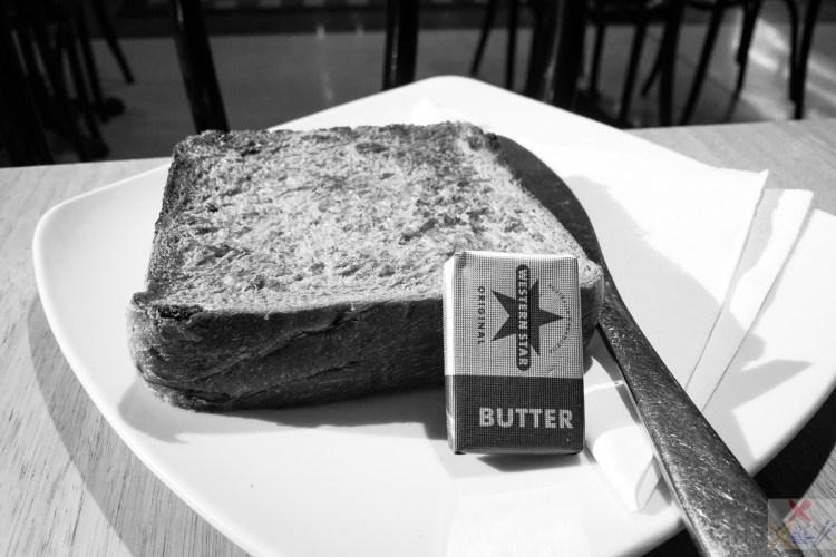 Raisin toast with butter Gary Lum