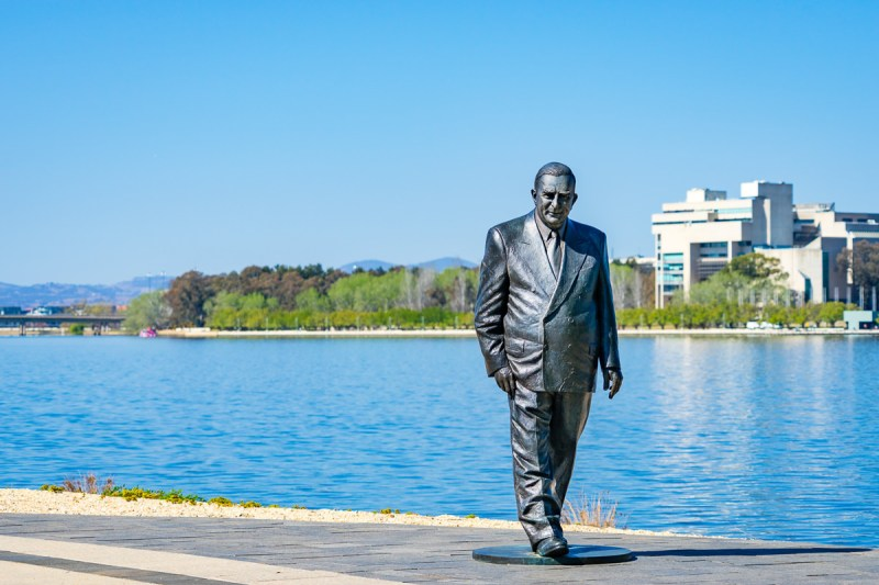 Sir Robert Menzies Gary Lum