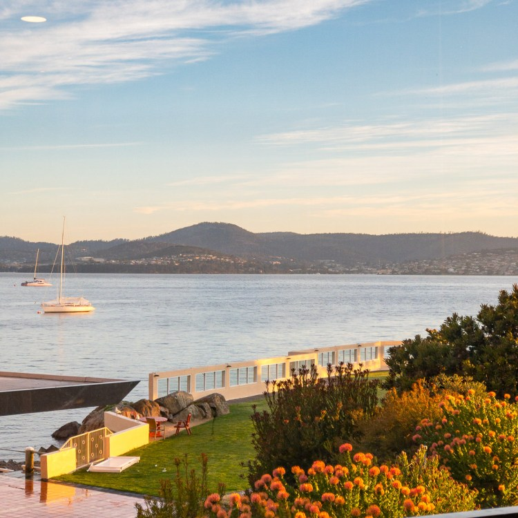 View from dining room, Wrest Point, Hobart Gary Lum