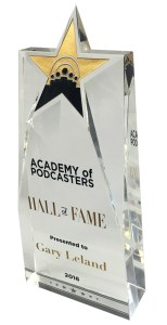 Podcast Hall Of Fame Award