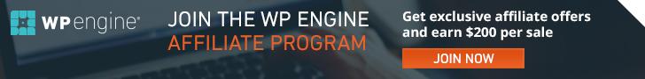 Join my WPengine Wordpress Hosting Affiliate Program Today!
