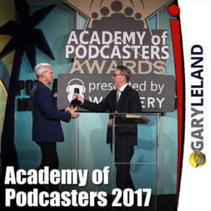 Gary Leland Academy of Podcasters and Season 3 Finale