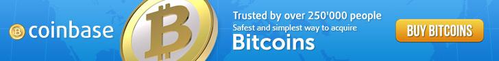 Buy Bitcoin at Coinbase