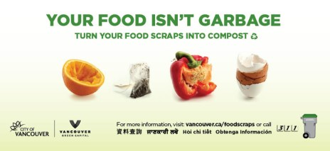Food Scraps – Digital Taxi Ad