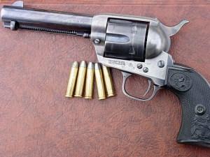 6 shooter five bullets