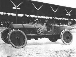 Old Indy 500 racecar