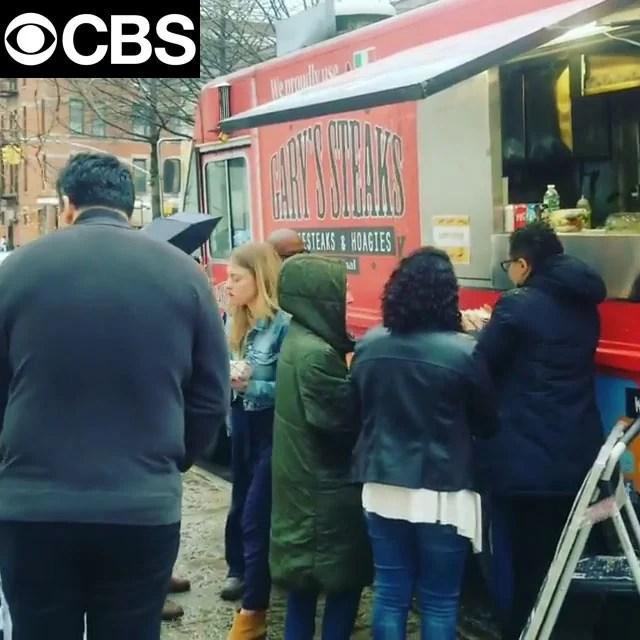 Garyssteaks food truck rental – CBS The Good Fight TV Show – Wrap Up Party