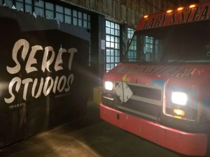 Read more about the article Production Catering for SERET STUDIOS with Gary's Steaks Food Truck