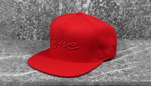 9five_snapback_red_script