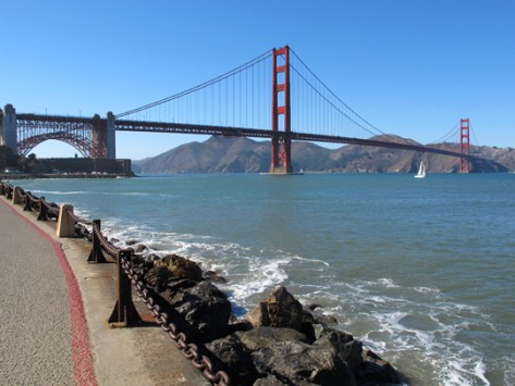 Golden Gate Bridge September 2010