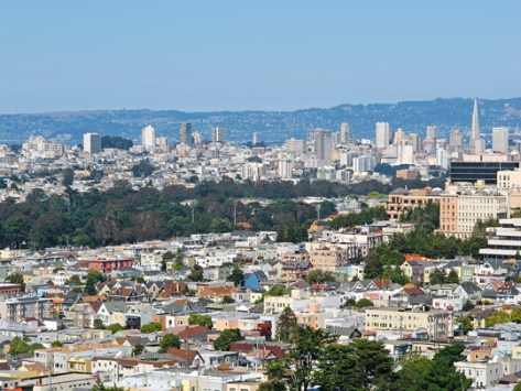 SF City view