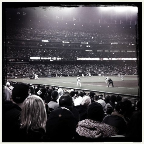 iPhone shot from the game