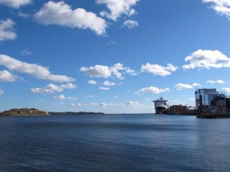Chebucto harbor view