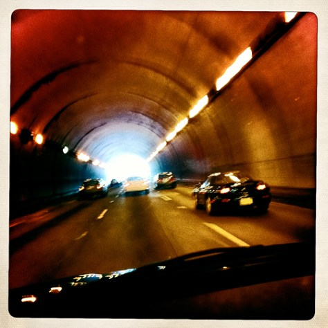 Inside the Waldo Tunnel