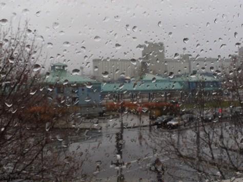 Québec City rain