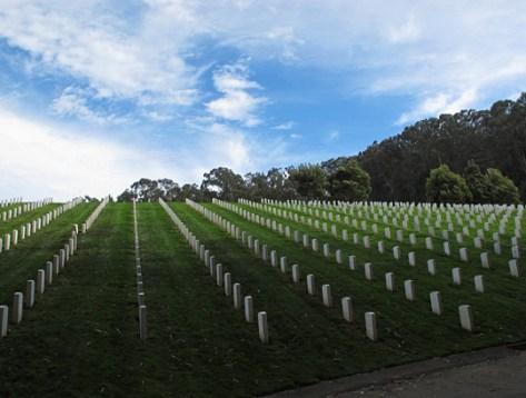 Presidio graves