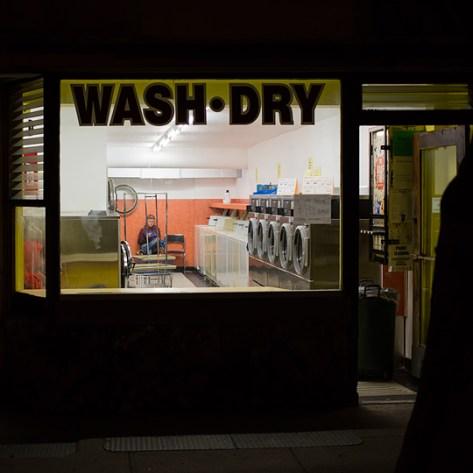 Laundromat scene 1