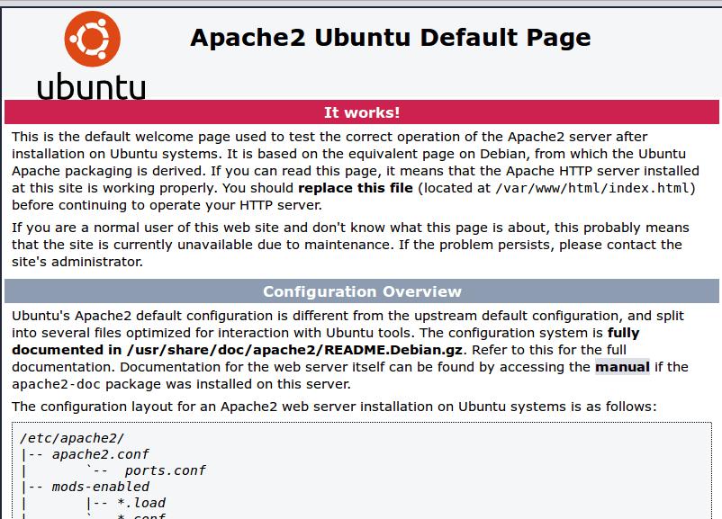 Install apache web server on ubuntu desktop | Gary Woodfine