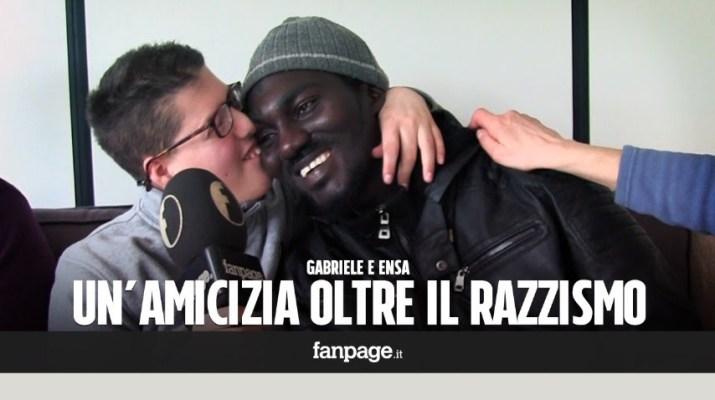 Gas-Tube: Quando l'amicizia va oltre il razzismo. La storia di Gabriele ed Ensa