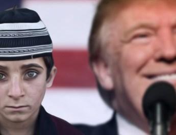 trump bimbo afghano