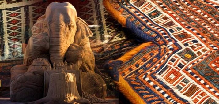 tappeto elefante
