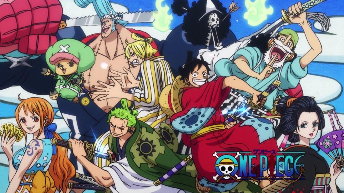 Banner da Temporada Wano de One Piece