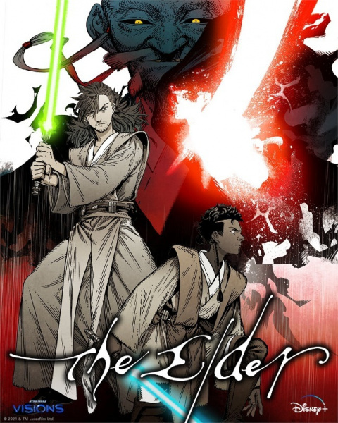 Poster do episódio The Elder de Star Wars Visions