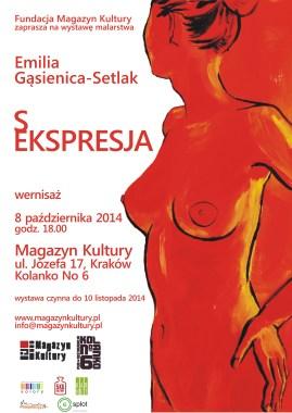 plakat wystawa 8.10.2014