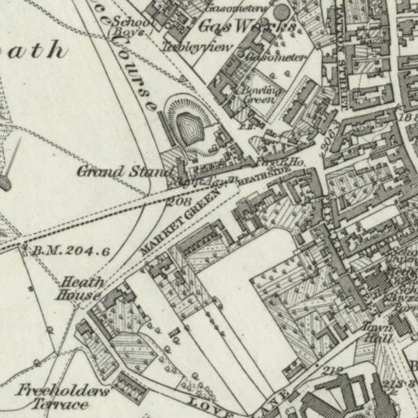 Knutsford Map, 1872