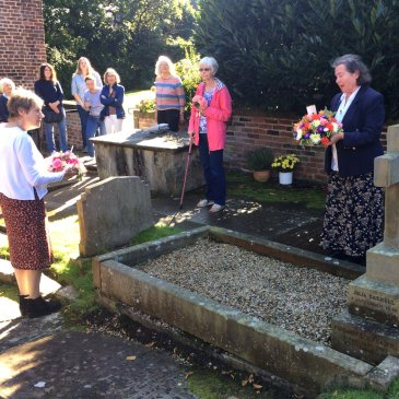 The Gaskell Memorial Service