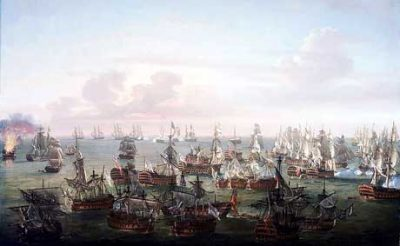Trafalgar : The end of the battle