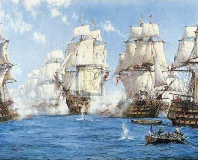 The height of the Battle of Trafalgar