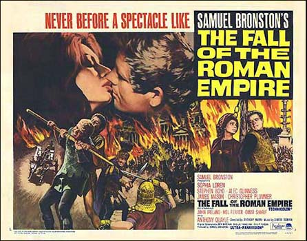 The Fall Of The Roman Empire (1964) - Poster