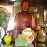 Buddha figure, Chinese snuff bottles